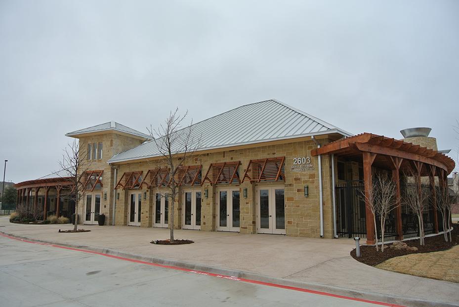 facade of commercial establishment